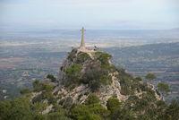 Kreuz am Santuari de Sant Salvador, Mallorca