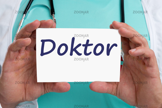 Doktor Arzt gesund Gesundheit krank Krankheit