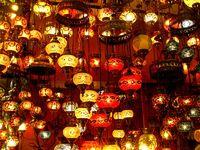 Lampen im Bazar