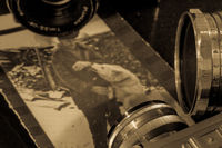 lens and old photos