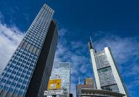 Wegweiser in Frankfurt