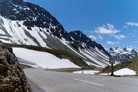 Albulapass Bergkuppe