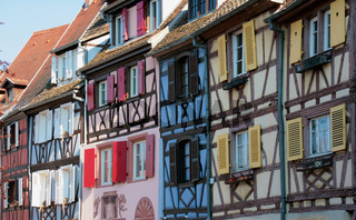 Colorful houses in picturesque Colmar, France