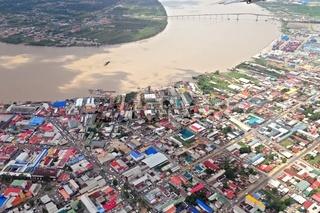 Paramaribo mit Wijdenbosch Brücke  Suriname