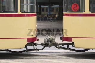 Hannover - Straßenbahnoldtimer TW 522, Deutschland