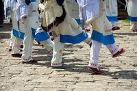Lijiang Old Town Naxi Women Legs Dancing Costume