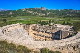 Ruins of Aspendos theatre