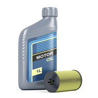Motor oil and oil filter