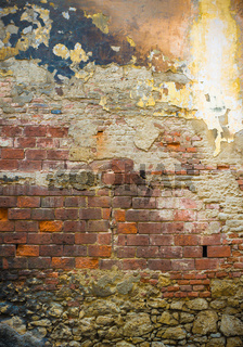 grunge brick wall, perfect background