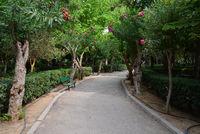 Rethymno city municipal garden