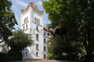Seitenturm am Auricher Schloß