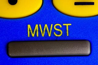 MWST Taste am Taschenrechner