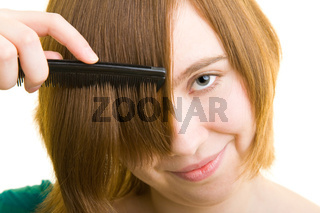 Haare kämmen