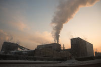 factory smoke pollution
