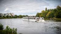Kreuzfahrtschiff Elbe Princesse in Magdeburg