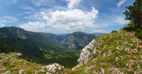 Mountains and canyon in Durmitor, Montenegro