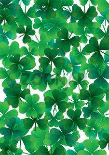 Happy clover background