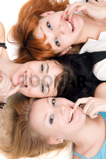 Three naughty women