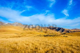 Golden mountains, Lagodekhi, Georgia