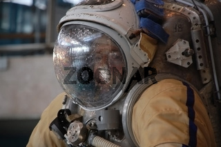 US Astronaut Michael Barratt After Training In The Russian Hydrolab Pool