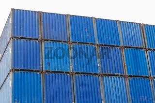 Cargo Containers Stack