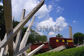 Tren Blindado,Revolutionsdenkmal,Santa Clara,Kuba