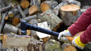 Timber Worker Lumberjack Axe