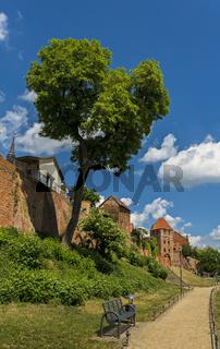 Stadtmauer in Tangermuende