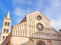 Kathedrale der heiligen Anastasia in Zadar, Kroatien