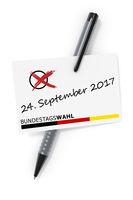 Bundestagswahl 24. September 2017