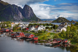 Lofoten archipelago islands