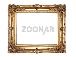 goldener Rahmen