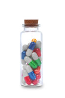 Pills and bottle