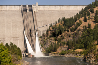 Dworshak Dam Concrete Gravity North Fork Clearwater River Idaho