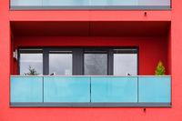 Detail eines Gebäudes in Rostock