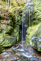 Amselfall in the National Park Saxon Switzerland