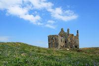 Dunskey Castle.
