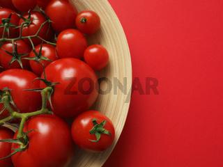 Delicious tomato assortment