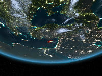 Cyprus at night