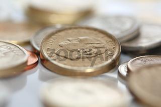 Peseta spanisches Hartgeld