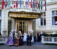 Die barocke Vergangenheit lebt im Grand Hotel Pupp,Karlsbad,Tschechien