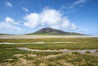 Marschland, auch Schwemmland, bei Northton, Isle of Harris