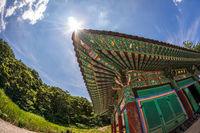 Korean traditional temple