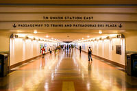 Los Angeles Union Station Foot Traffic