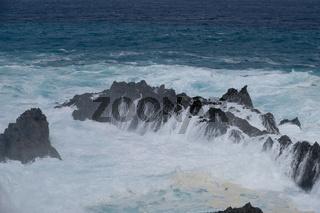 natural swimming pools on Tenerife island