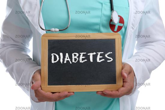 Diabetes krank Zucker Krankheit gesund Gesundheit junger Arzt Doktor