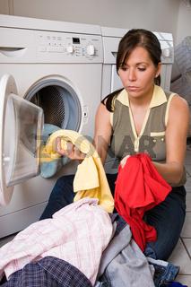 Trennen der Wäschestücke