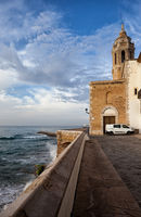 Sitges Town in Spain