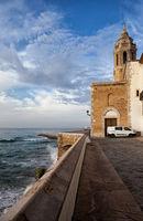 Sitges Town in Spain