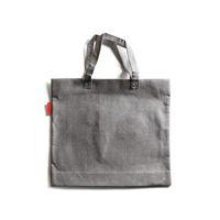 Gray shopping bag